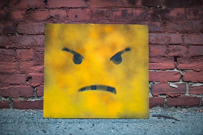 picture of angry emoji